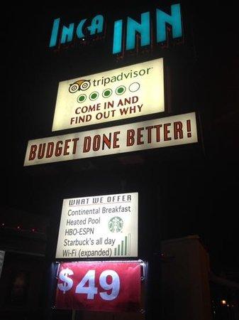 Inca Inn: Budget IS done better here!