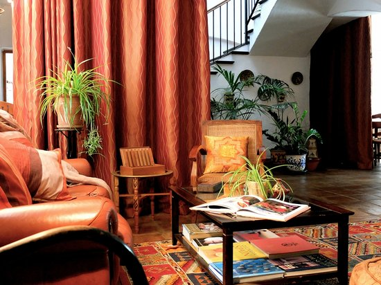 Hotel Los Castanos : cosy corners