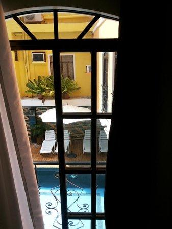 Hotel Camila: By the window balcony