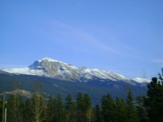 Jasper Discovery Trail: Vue du haut