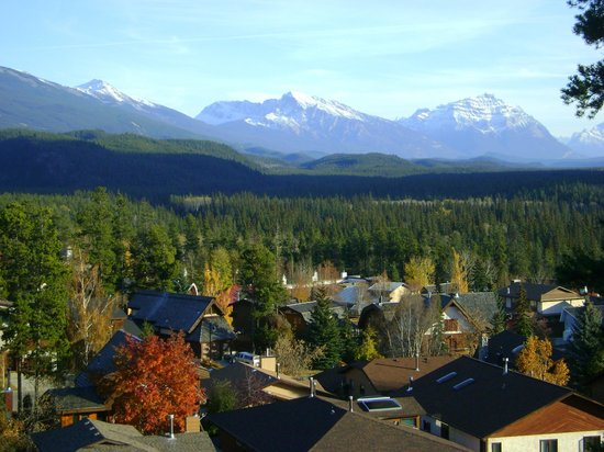 Jasper Discovery Trail: vue du haut du sentier