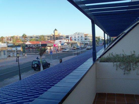 Hotel Atlantis Dunapark: Vista dalla camera1