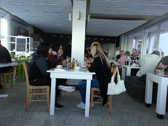 Live Bait in Harbour House: Relaxed atmosphere