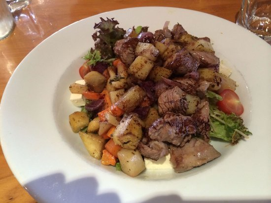 The Fat Duck: Salade agneau