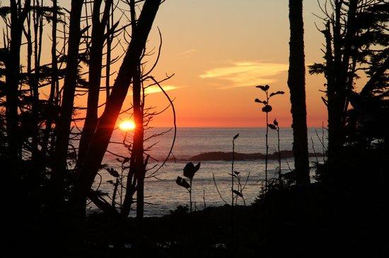 Black Rock Oceanfront Resort: SUNSET FROM ROOM TERRACE