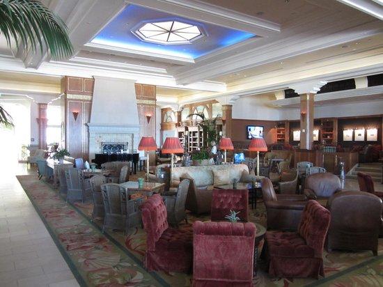 Casa del Mar : Le salon de l'hôtel