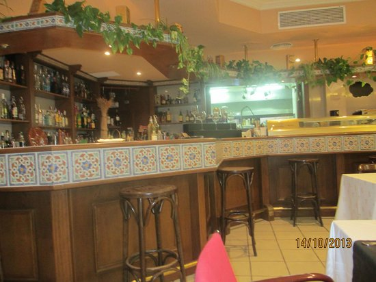 Orihuela Costa Resort : Bar area
