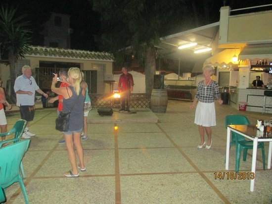 Orihuela Costa Resort : Entertainment at night time