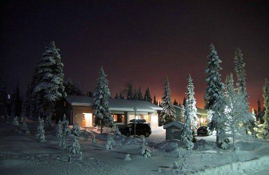 Rukajarvi, فنلندا: наш коттедж