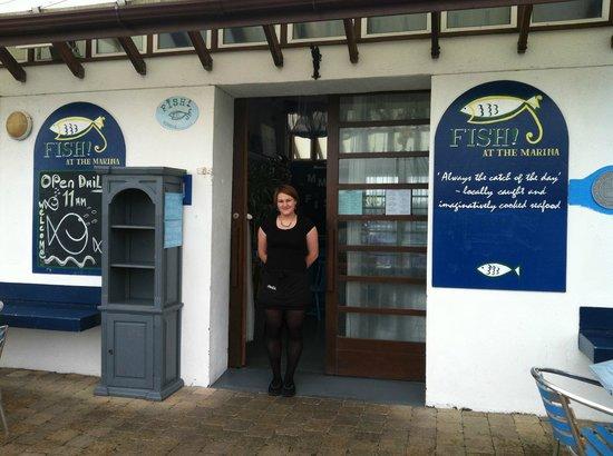 Fish At the Marina : The Infamous Natalie!