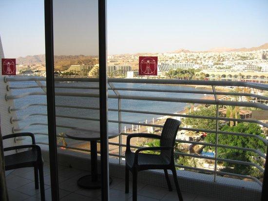 Leonardo Plaza Hotel Eilat: Вид из номера