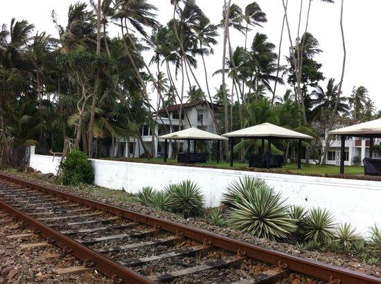 Paradise Road The Villa Bentota: A view of part of the villa.