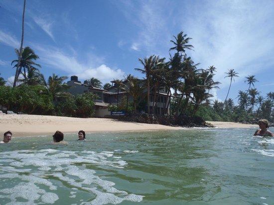 Beach Inns : Hotel from the sea