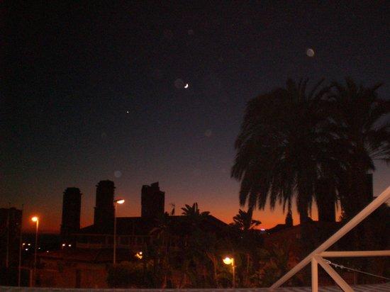 Terralta Apartamentos Turisticos : sunset from our room