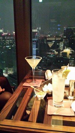 Mandarin Oriental, Tokyo: Un Margarita en la planta 38