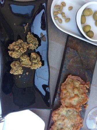 Garum: Ortiguillas y tortillitas de camarones