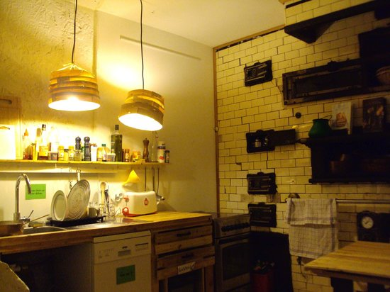 Chicag' Hostel: cuisine