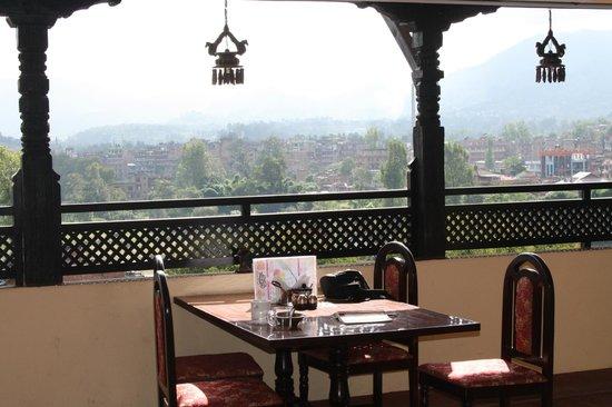 Heart of Bhaktapur Guest House: Breakfast area