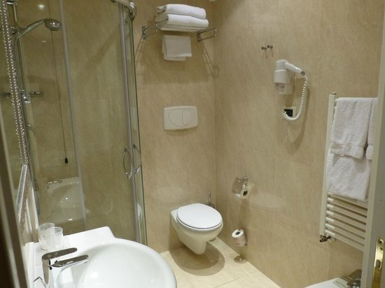Hotel Diplomat : BAÑO