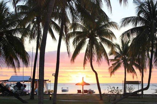 Sofitel Mauritius L'Imperial Resort & Spa: Sunset was beautiful