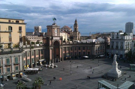 B&B Palazzo Ruffo di Bagnara: Las vistas desde el comedor, tomadas con un smartphone!!