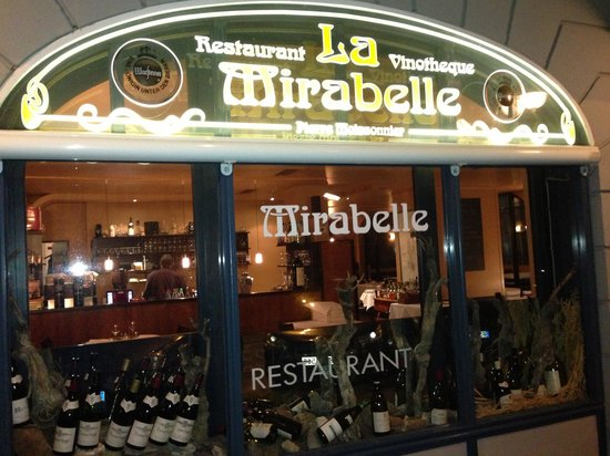 La Mirabelle: Get in and be ready for a treat!