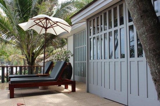 The Surin Phuket: la terrasse
