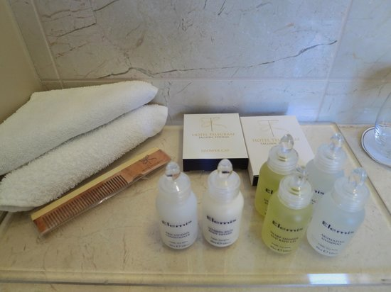 Hotel Telegraaf: Good quality amenities