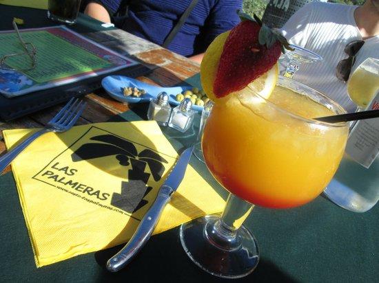 las Palmeras : cocktail alla frutta analcolico