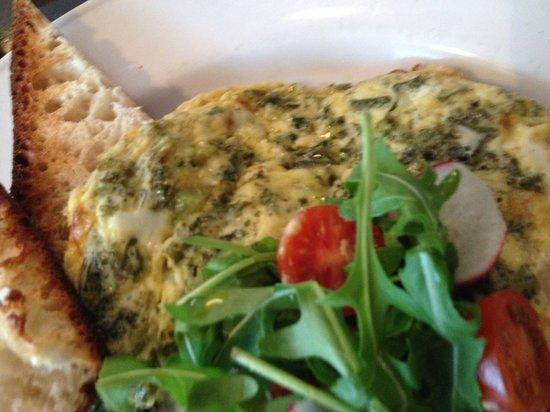 Il Vicolo: Kale Frittata really tasty !!