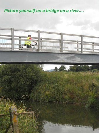 eSpoke cyclevents ltd.: Re-instated bridge over the river Stour on the Trailway