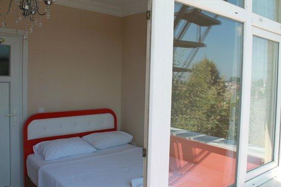 Amt Apart Hotel: Odadan Manzara