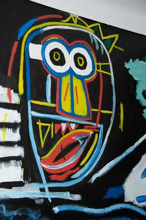 Artbeat Rooms: Basquiat in the bedroom - Didn't keep me awake