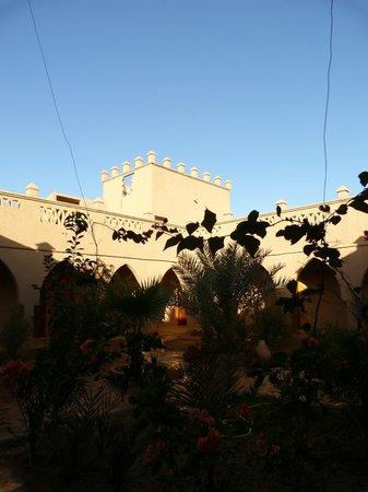 Hotel Ksar Merzouga : cortile interno