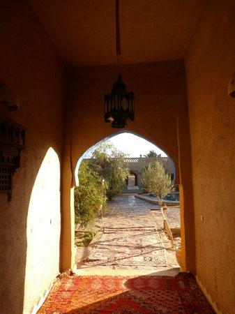 Hotel Ksar Merzouga: cortile interno