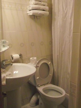 Hotel St. Georges Lafayette: Bagno piccolo ma funzionale