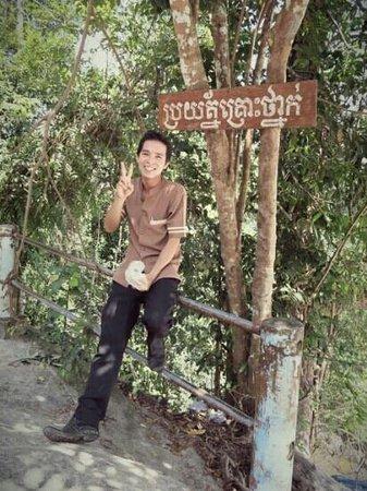 Angkor Era Hotel : November 2013 - our awesome driver Chantith!