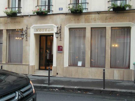 Hotel St. Georges Lafayette: Facciata hotel
