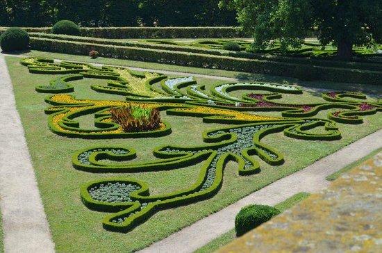 Gardens and Castle at Kromeríz: Kvetna zahrada/Floral garden