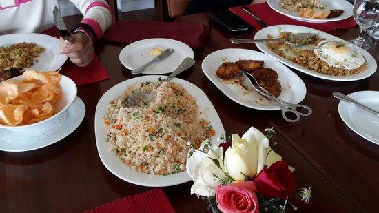 Amaya Langdale: nasi goreng without satay