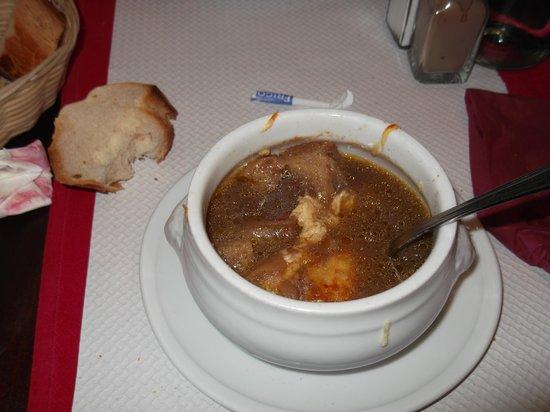 Le Bistrot 30 : zuppa di cipolle