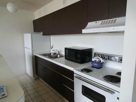Waikiki Banyan: 冷蔵庫が大きいので入れ放題♡