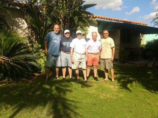 Miami Guest House: Con nuestros amigos