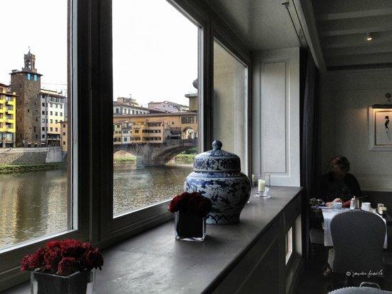 Hotel Lungarno: Comedor
