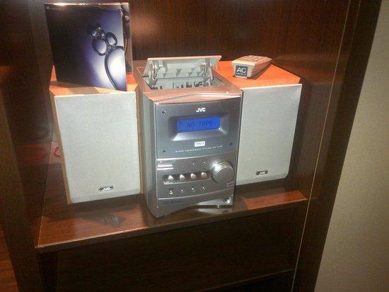 AC Hotel Barcelona Forum by Marriott: Marriott Brand Standards audio cassette player