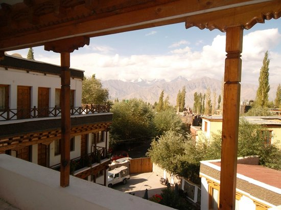 Hotel Dragon Ladakh: Hotel view