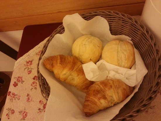 Hotel alla Fava: Cestino colazione