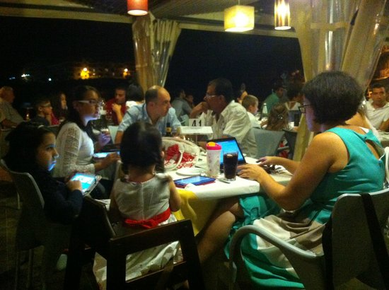 Another shot of the busy Saturday evening!