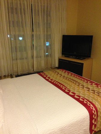 TownePlace Suites Tampa Westshore/Airport: Bed to TV