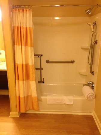 TownePlace Suites Tampa Westshore/Airport: Shower